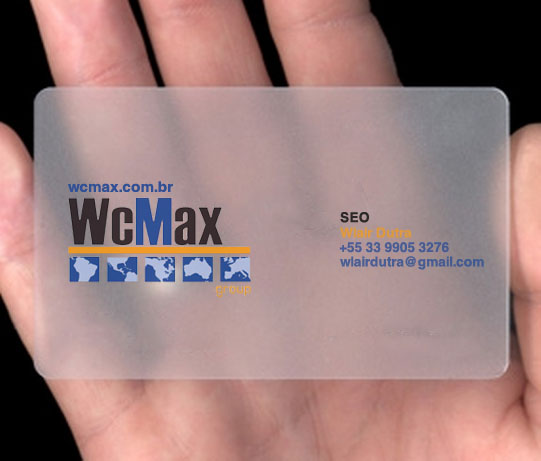 WCmax group. Business Card