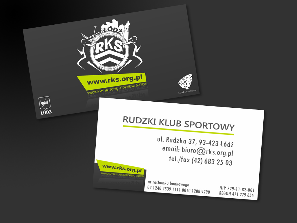 Business Card   Sports Club By Traczkowski ...  Club Card Design