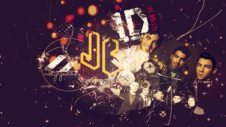 Jonas 1D Wallpaper By NatyJonasProductions