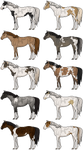 Pixel Tobiano Adopts [5/10] OPEN by live-inspired