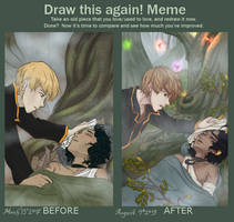 Improvement Meme (The Mists, You made It Worse) by AlexandeNight