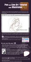Beginning with Illustrator - Line art tutorial