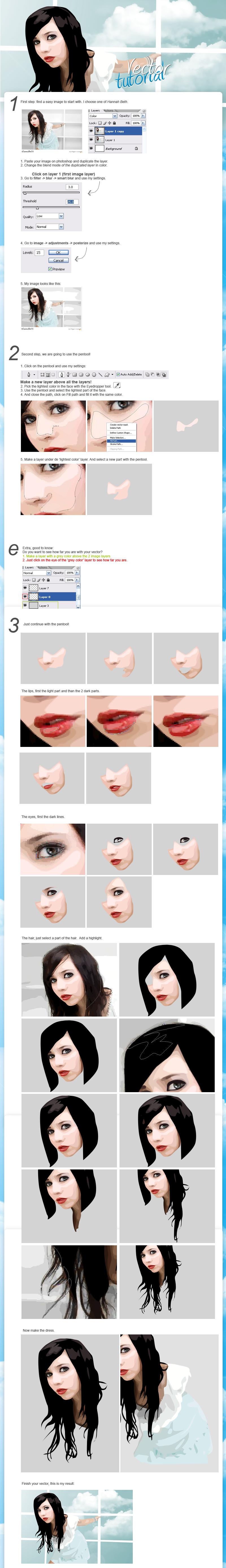 Vexel tutorial by So-ghislaine