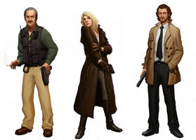 Detective Ill. Characters by sir--render