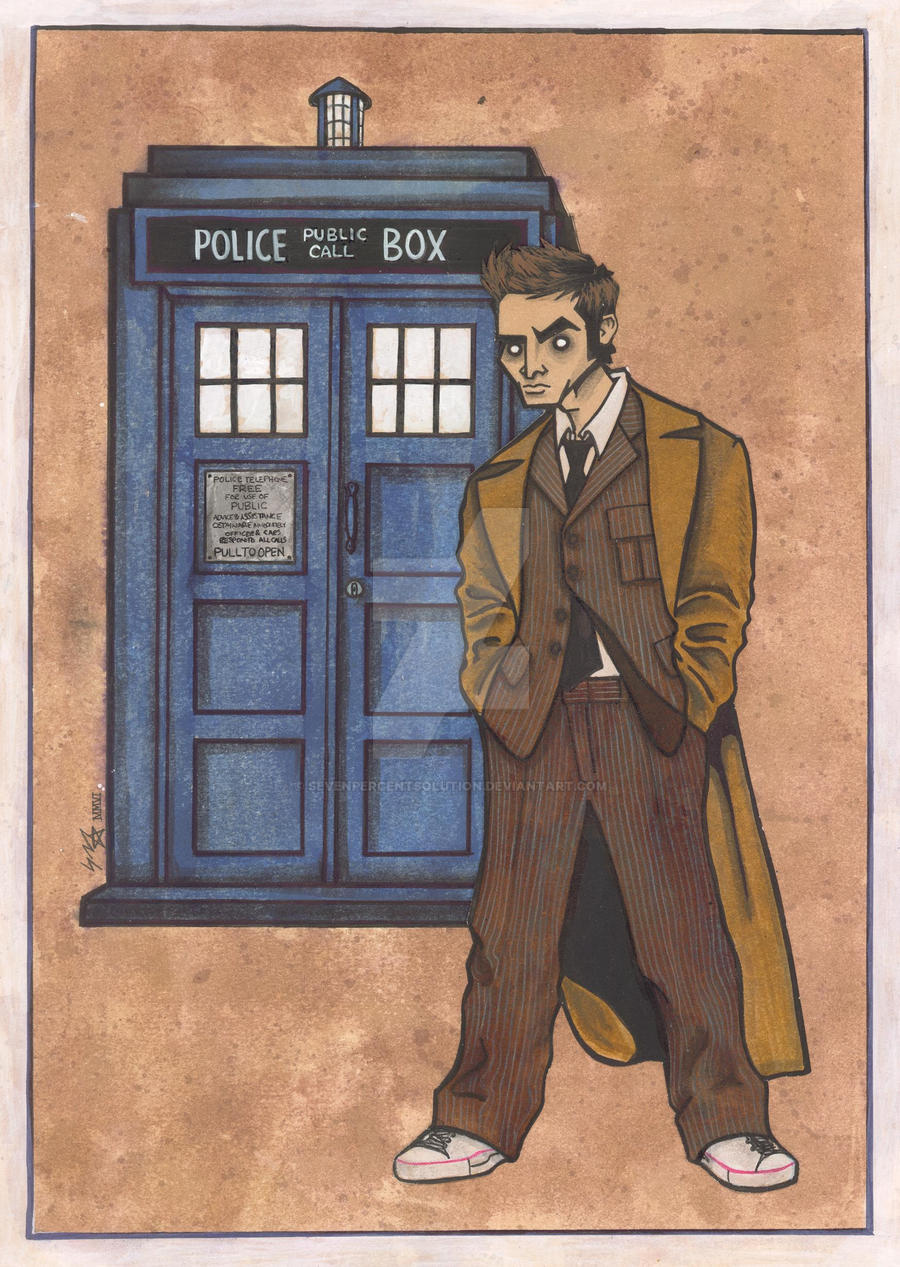 Doctor Who by sevenpercentsolution