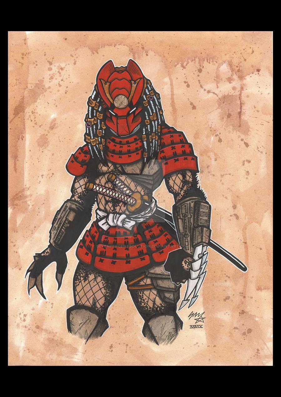 Samurai Predator by sevenpercentsolution