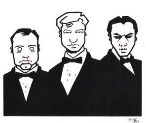 The League of Gentlemen by sevenpercentsolution