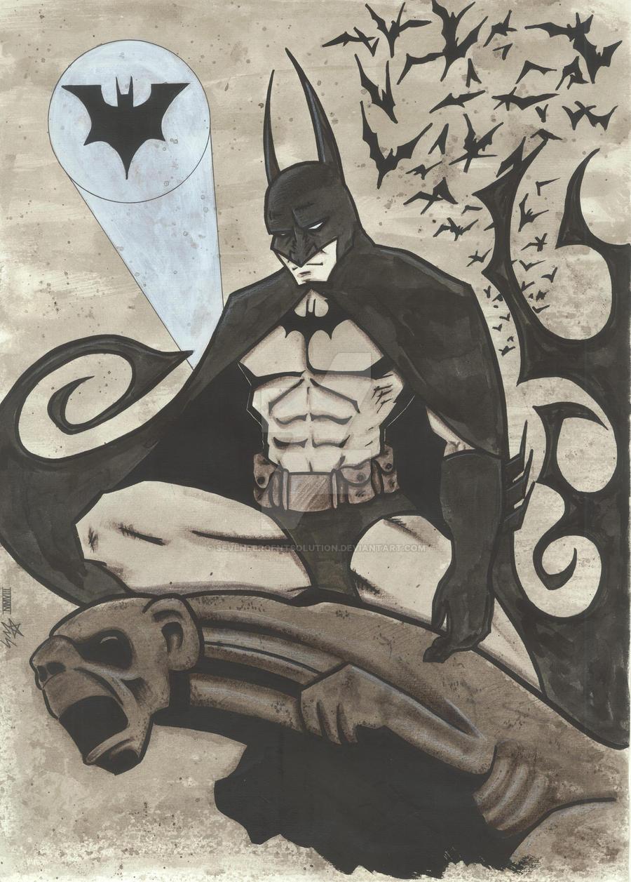 Batman by sevenpercentsolution