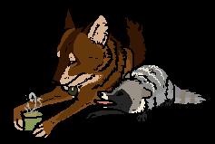'But cofffeeeee' by Wolf-Jewelz