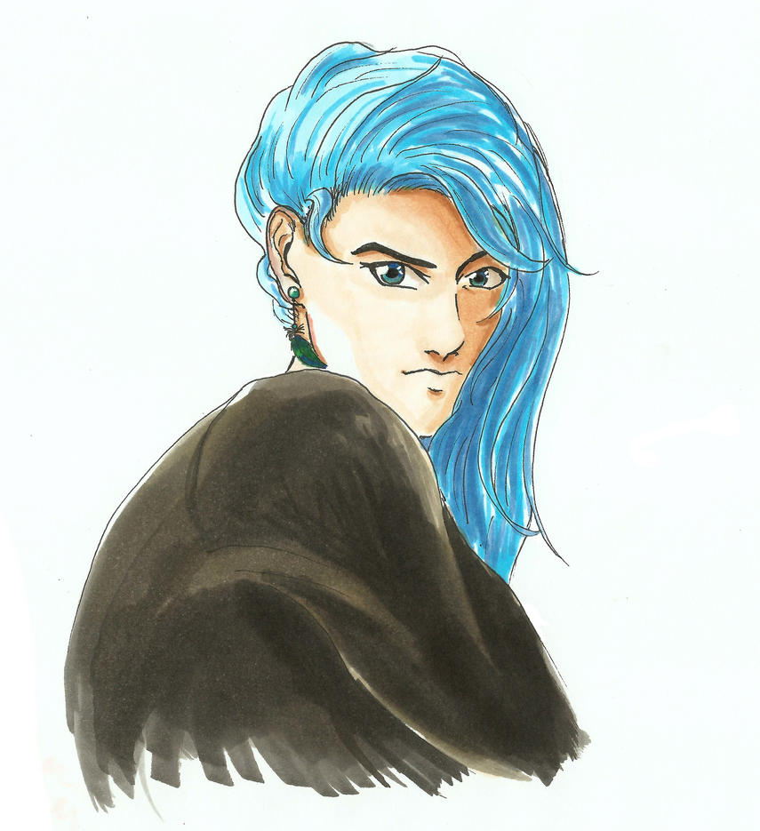 Blaue Haare by crazy-fruit