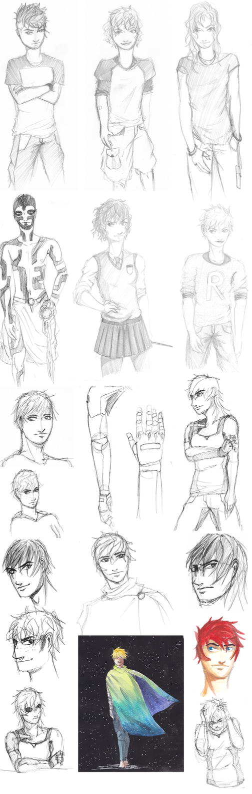 Sketchdump1 by crazy-fruit