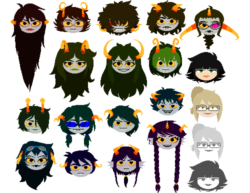 Homestuck Alpha Trolls Sprites For Kids