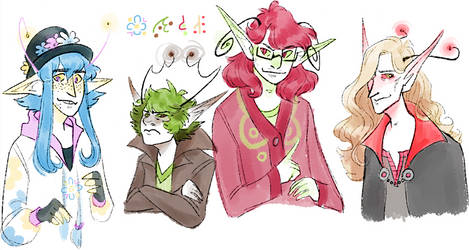 my vampire boys except they're glowans in this one