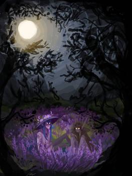 moonlit bats