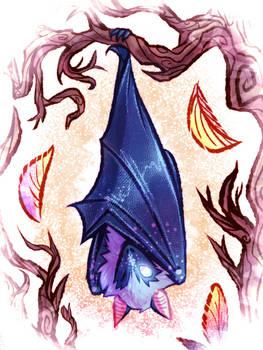 that blue bat