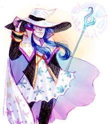 magical wizard mort