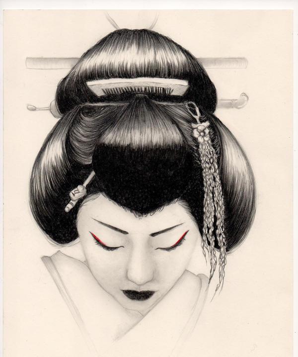 Geisha by adriannauk