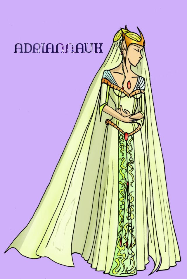 Costume Design - Elf Wedding by adriannauk on DeviantArt
