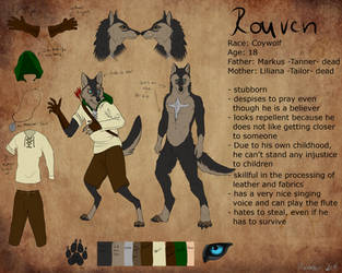 Rouven Character Sheet by xXKalassinXx
