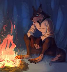 Bonfire by Shimruno