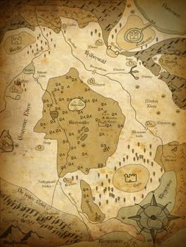 Map Of Tiorlanth
