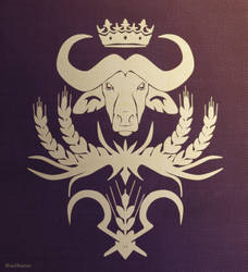 The Violet Kindoms Coat Of Arms