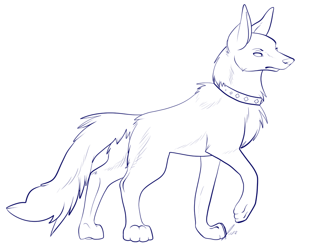 Wolf Lineart : Wolf lineart pictures to pin on pinterest daddy