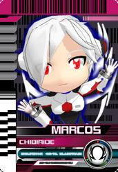 Marcos Chibi Ride Card