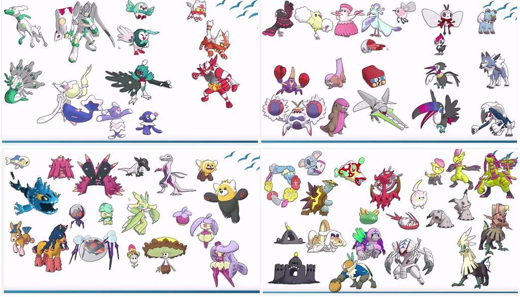 Pokemon 7th Generation Images Pokemon Images
