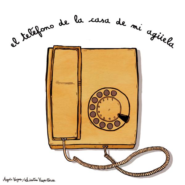 Telefono Abuelita by Scout-Finch