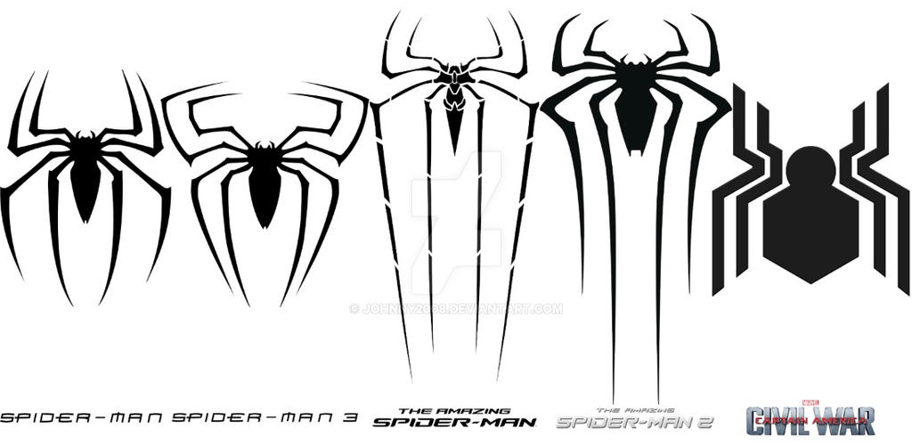 Spiderman back spider logo - photo#38