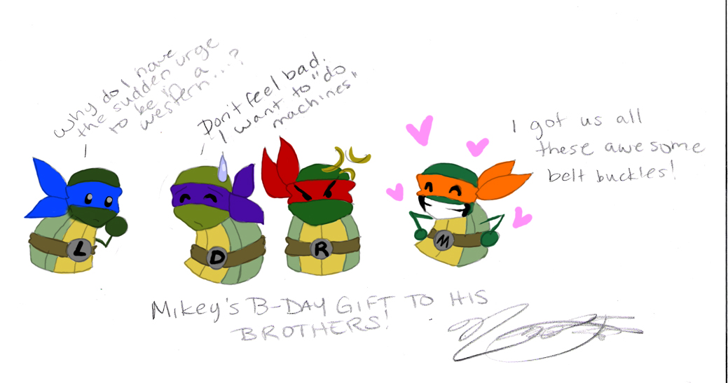 Mikey's Gift by nichan