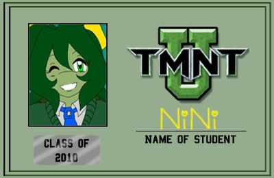 TMNT-U ID 2010 - NiNi by nichan