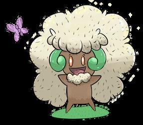 Pokemon Whimsicott by Maxie-Bunny
