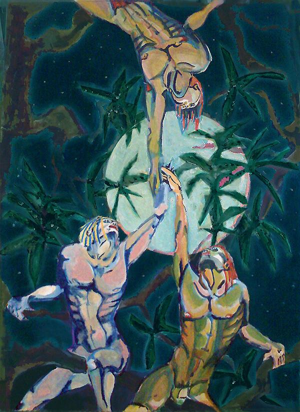 Nocturnal Unite: Oil Paint