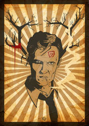 Rust Cohle form True Detective.