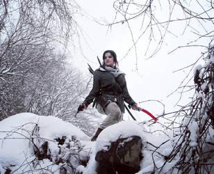 Lara Croft Rise of the tomb raider: ready.. by Sara-Croft