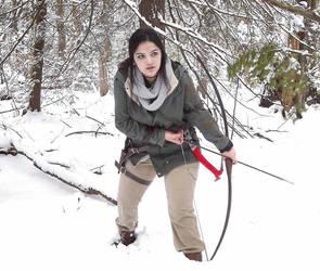 Lara Croft Rise of the Tomb Raider: on the prowl by Sara-Croft