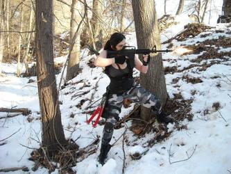 Lara Croft Rise of the Tomb Raider: Commando 1 by Sara-Croft