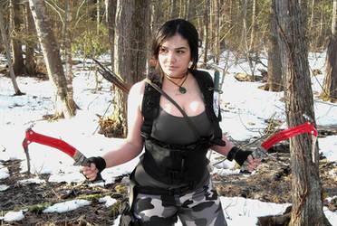 Lara Croft Rise of the Tomb Raider: Commando 2 by Sara-Croft