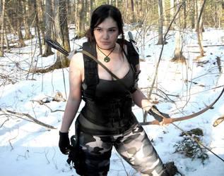 Lara Croft Rise of the Tomb Raider: Commando 3 by Sara-Croft