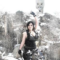 Lara Croft Rise of the Tomb Raider: Commando 7 by Sara-Croft