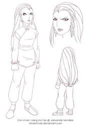 Commission: XangXuiYan(Adult) by ChristiVivar