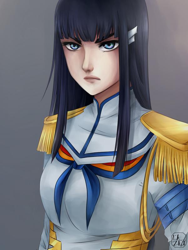 Kiryuin Satsuki by Kazet-chi
