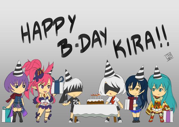 Happy Bday 2b!! (Kira Buckland) - w/ Video Process by kox3k