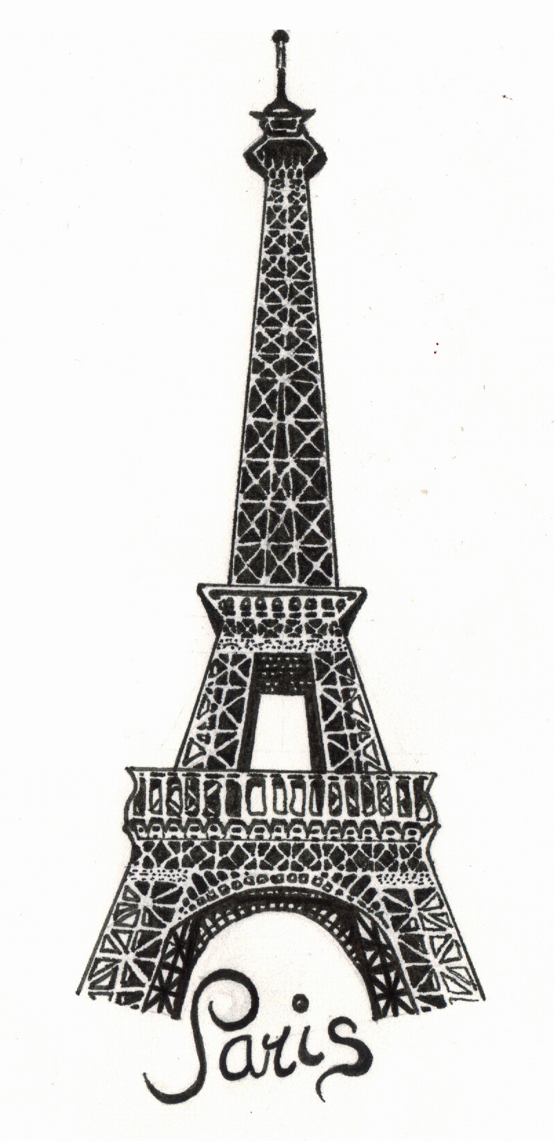Paris - The Eiffel Tower by the-snow-white on DeviantArt