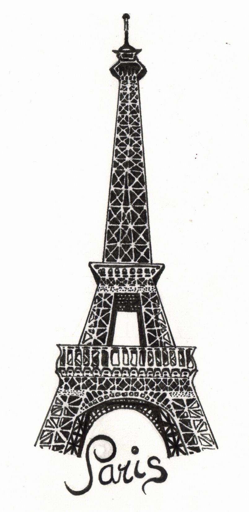 Paris - The Eiffel Tower by the-snow-white on DeviantArt