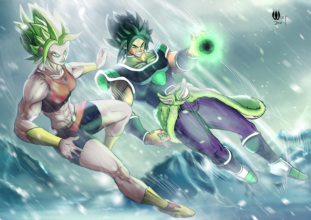 Broly X Kale By Nefariousmonsterwolf On Deviantart