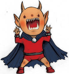 Etrigan the Demon by OliverHine