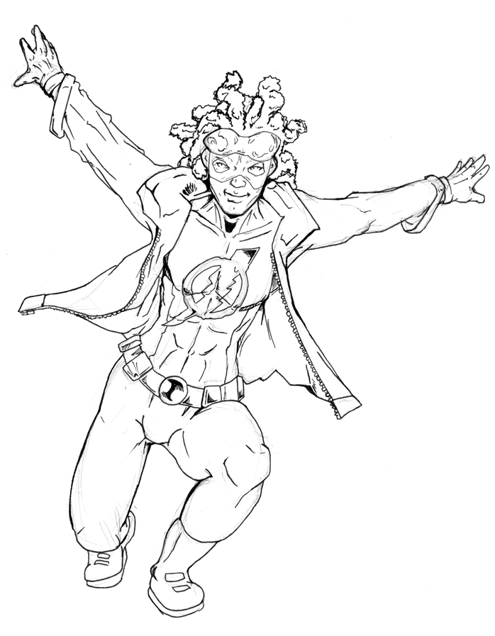 static shock coloring pages | Static Shock Coloring Pages Coloring Pages